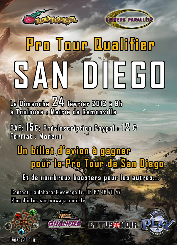 [MODERN] PRO TOUR QUALIFIER SAN DIEGO à TOULOUSE Affiche-ptq-1--3b81526