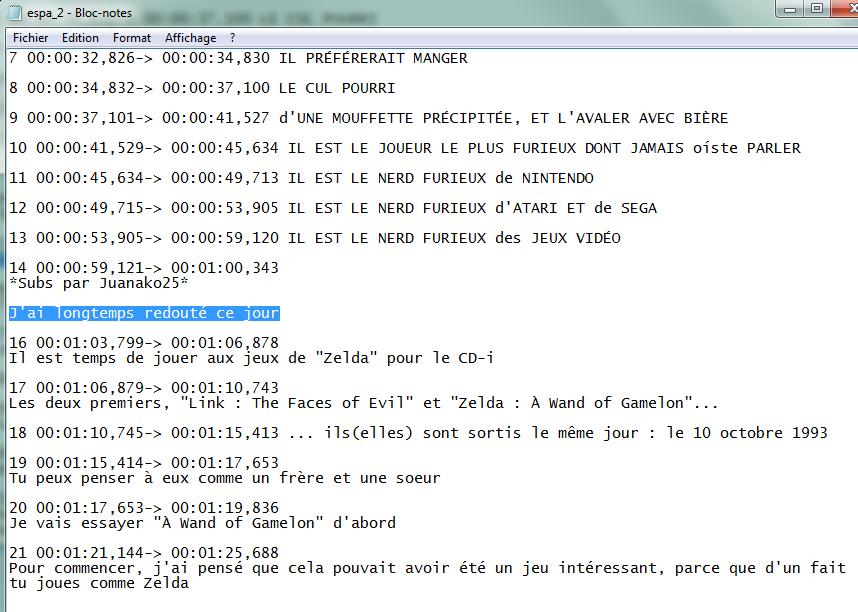 """(Sous-titrage en """"Closed Captions"""" sur Youtube) Ma méthode de sous titrage  Tuto11-3abe668"""