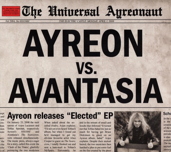 Ayreon - Elected (2008) [MP3]