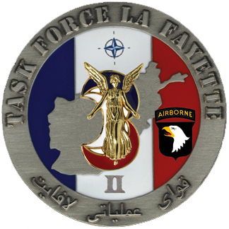 54mm: Task Force Lafayette Ecusson-3bc3aec